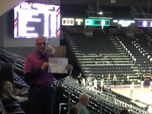Ed attended Grand Canyon University vs. Chicago State - God Bless America Night - Men's NCAA Basketball on Feb 23rd 2017 via VetTix