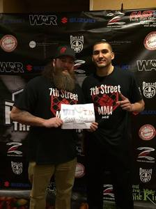 Brooks attended Driller Promotions Presents - A-town Throwdown Xi - Live Mixed Martial Arts on Mar 18th 2017 via VetTix