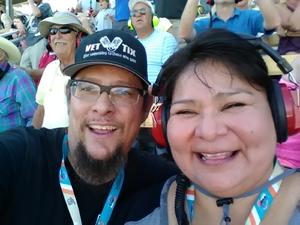 Sean attended Camping World 500 - Monster Energy NASCAR Cup Series - Phoenix International Raceway on Mar 19th 2017 via VetTix