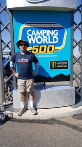 Thomas attended Camping World 500 - Monster Energy NASCAR Cup Series - Phoenix International Raceway on Mar 19th 2017 via VetTix