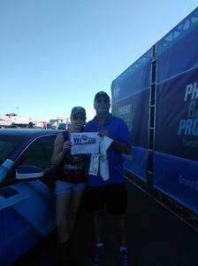 Richard attended Camping World 500 - Monster Energy NASCAR Cup Series - Phoenix International Raceway on Mar 19th 2017 via VetTix