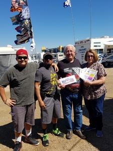Gary attended Camping World 500 - Monster Energy NASCAR Cup Series - Phoenix International Raceway on Mar 19th 2017 via VetTix