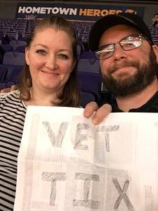 Thomas attended Phoenix Suns vs. Boston Celtics - NBA on Mar 5th 2017 via VetTix