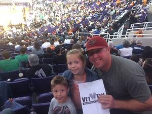 Anthony attended Phoenix Suns vs. Boston Celtics - NBA on Mar 5th 2017 via VetTix