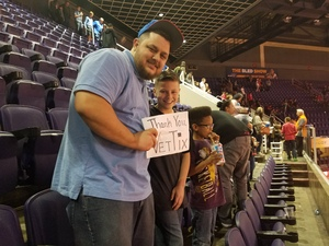 Ferris attended Phoenix Suns vs. Boston Celtics - NBA on Mar 5th 2017 via VetTix