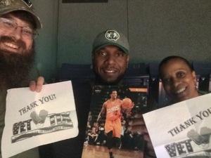 Jim attended Phoenix Suns vs. Boston Celtics - NBA on Mar 5th 2017 via VetTix