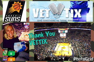 Dennis attended Phoenix Suns vs. Boston Celtics - NBA on Mar 5th 2017 via VetTix