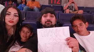 Richard attended Phoenix Suns vs. Los Angeles Lakers - NBA on Mar 9th 2017 via VetTix
