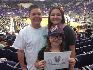 Glenn B attended Phoenix Suns vs. Sacramento Kings - NBA on Mar 15th 2017 via VetTix