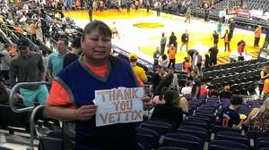 Alvina attended Phoenix Suns vs. Sacramento Kings - NBA on Mar 15th 2017 via VetTix