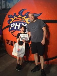 Randall attended Phoenix Suns vs. Sacramento Kings - NBA on Mar 15th 2017 via VetTix