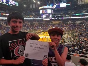 John attended Phoenix Suns vs. Sacramento Kings - NBA on Mar 15th 2017 via VetTix