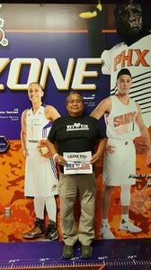 Wil attended Phoenix Suns vs. Sacramento Kings - NBA on Mar 15th 2017 via VetTix
