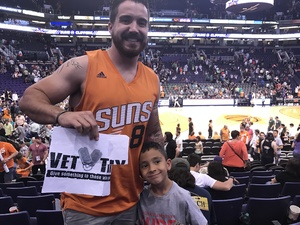 Michael attended Phoenix Suns vs. Orlando Magic - NBA on Mar 17th 2017 via VetTix