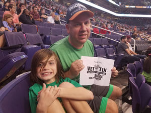 Anthony attended Phoenix Suns vs. Orlando Magic - NBA on Mar 17th 2017 via VetTix