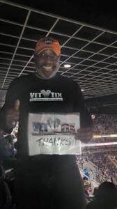 Perry attended Phoenix Suns vs. Orlando Magic - NBA on Mar 17th 2017 via VetTix