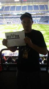 Michael attended HEB Big League Weekend - American League West Division Champion Texas Rangers vs. American League Central Division Champion Cleveland Indians - MLB on Mar 18th 2017 via VetTix