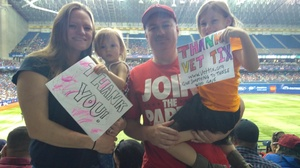 Jason attended HEB Big League Weekend - American League West Division Champion Texas Rangers vs. American League Central Division Champion Cleveland Indians - MLB on Mar 18th 2017 via VetTix