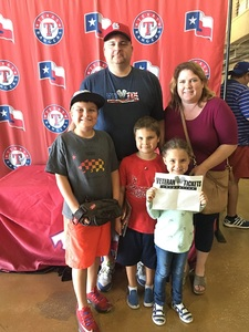 Rick attended HEB Big League Weekend - American League West Division Champion Texas Rangers vs. American League Central Division Champion Cleveland Indians - MLB on Mar 18th 2017 via VetTix