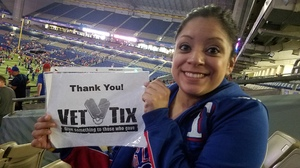 Miriam attended HEB Big League Weekend - American League West Division Champion Texas Rangers vs. American League Central Division Champion Cleveland Indians - MLB on Mar 18th 2017 via VetTix