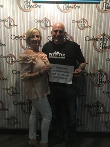 KEVIN attended One Night of Queen on Mar 3rd 2017 via VetTix