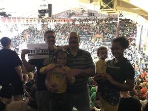 Matthew attended Oregon State Beavers vs. Oregon - NCAA Men's Basketball on Mar 4th 2017 via VetTix