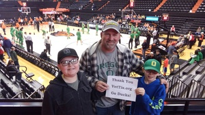 Daniel attended Oregon State Beavers vs. Oregon - NCAA Men's Basketball on Mar 4th 2017 via VetTix