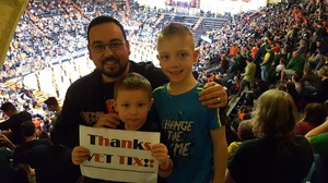 jacob attended Oregon State Beavers vs. Oregon - NCAA Men's Basketball on Mar 4th 2017 via VetTix