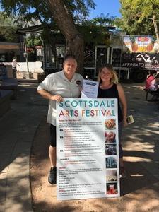 Jeffery attended Scottsdale Arts Festival - Saturday on Mar 11th 2017 via VetTix