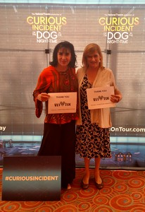 Janelle attended The Curious Incident of the Dog in the Night-time - Theater on Jun 24th 2017 via VetTix