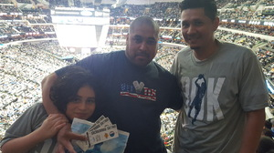 ALEJANDRO attended Dallas Mavericks vs. Los Angeles Lakers - NBA on Mar 7th 2017 via VetTix