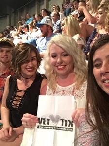 Joseph attended Tim McGraw and Faith Hill - Soul2Soul World Tour - Legacy Arena on Apr 21st 2017 via VetTix