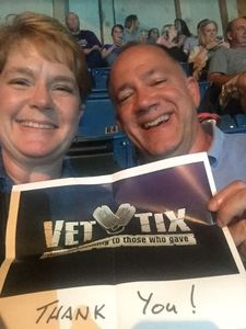 James attended Tim McGraw and Faith Hill - Soul2Soul World Tour - Legacy Arena on Apr 21st 2017 via VetTix