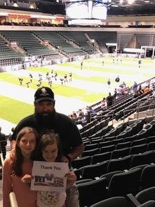 Michael attended Austin Acoustic vs. Seattle Mist - Legends Football League - Women of the Gridiron on Apr 14th 2017 via VetTix