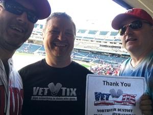 Dan attended Minnesota Twins vs. Detroit Tigers - MLB on Apr 22nd 2017 via VetTix