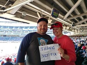Bruce attended Minnesota Twins vs. Detroit Tigers - MLB on Apr 22nd 2017 via VetTix