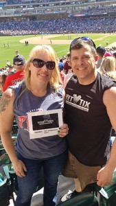 Michael attended Minnesota Twins vs. Boston Red Sox - MLB on May 6th 2017 via VetTix