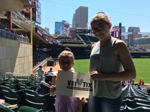 David attended Minnesota Twins vs. Boston Red Sox - MLB on May 6th 2017 via VetTix
