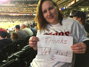 Steve attended Minnesota Twins vs. Tampa Bay Rays - MLB on May 26th 2017 via VetTix
