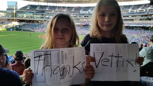 Douglas attended Minnesota Twins vs. Tampa Bay Rays - MLB on May 26th 2017 via VetTix