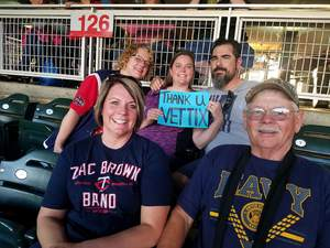John attended Minnesota Twins vs. Tampa Bay Rays - MLB on May 26th 2017 via VetTix