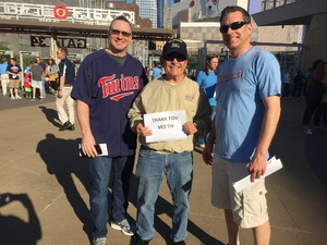 Edward attended Minnesota Twins vs. Tampa Bay Rays - MLB on May 26th 2017 via VetTix