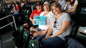 Tamara attended Minnesota Twins vs. Tampa Bay Rays - MLB on May 26th 2017 via VetTix