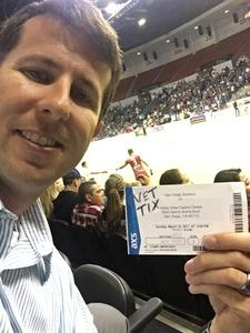 Brian attended San Diego Sockers vs. Tbd - Playoff Match - Major Arena Soccer League on Mar 19th 2017 via VetTix
