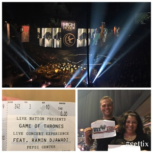 Lilian attended Game of Thrones - Live Concert Experience on Mar 19th 2017 via VetTix