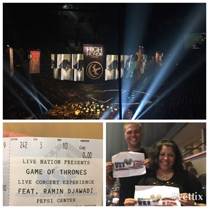 Kennith attended Game of Thrones - Live Concert Experience on Mar 19th 2017 via VetTix