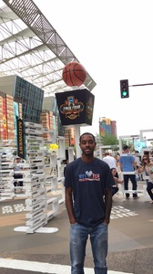 KENDALL attended 2017 Final Four Fan Fest Presented by Capital One - Good for Any One Day on Mar 31st 2017 via VetTix