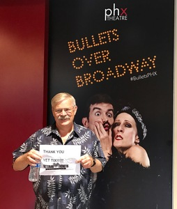 Thomas attended Bullets Over Broadway on Mar 19th 2017 via VetTix