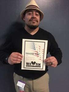Luis attended Punch Line Comedy Club - Featuring Comedian Rachel Feinstein on Mar 17th 2017 via VetTix