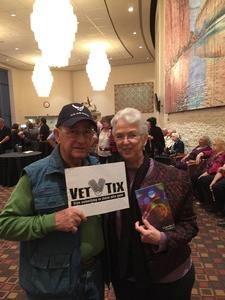 Thomas attended Stormy Weather: the Story of Lena Horne on Mar 25th 2017 via VetTix